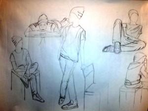 risanje kroki